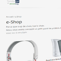 TenderOP, magasin en ligne, une nouvelle offre chaque semaine