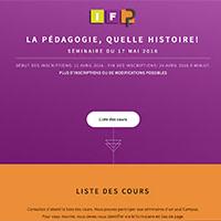 IFP - Seminar registration system