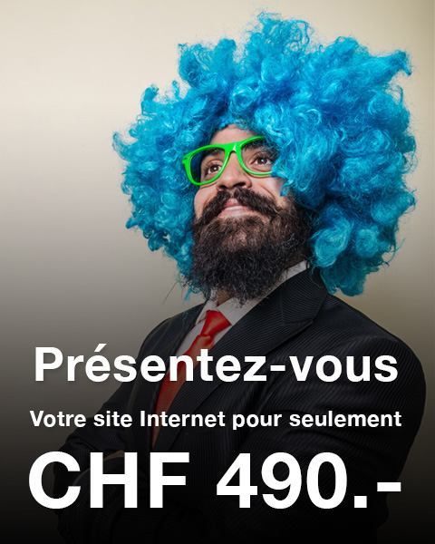 Site Internet CHF 490.-