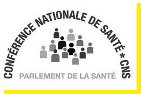 Conférence Nationale de Santé # CNS