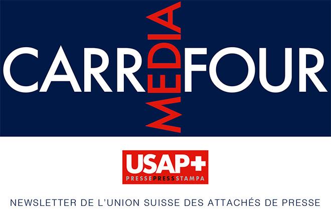 Newsletter de l'Union suisse des attachés de presse