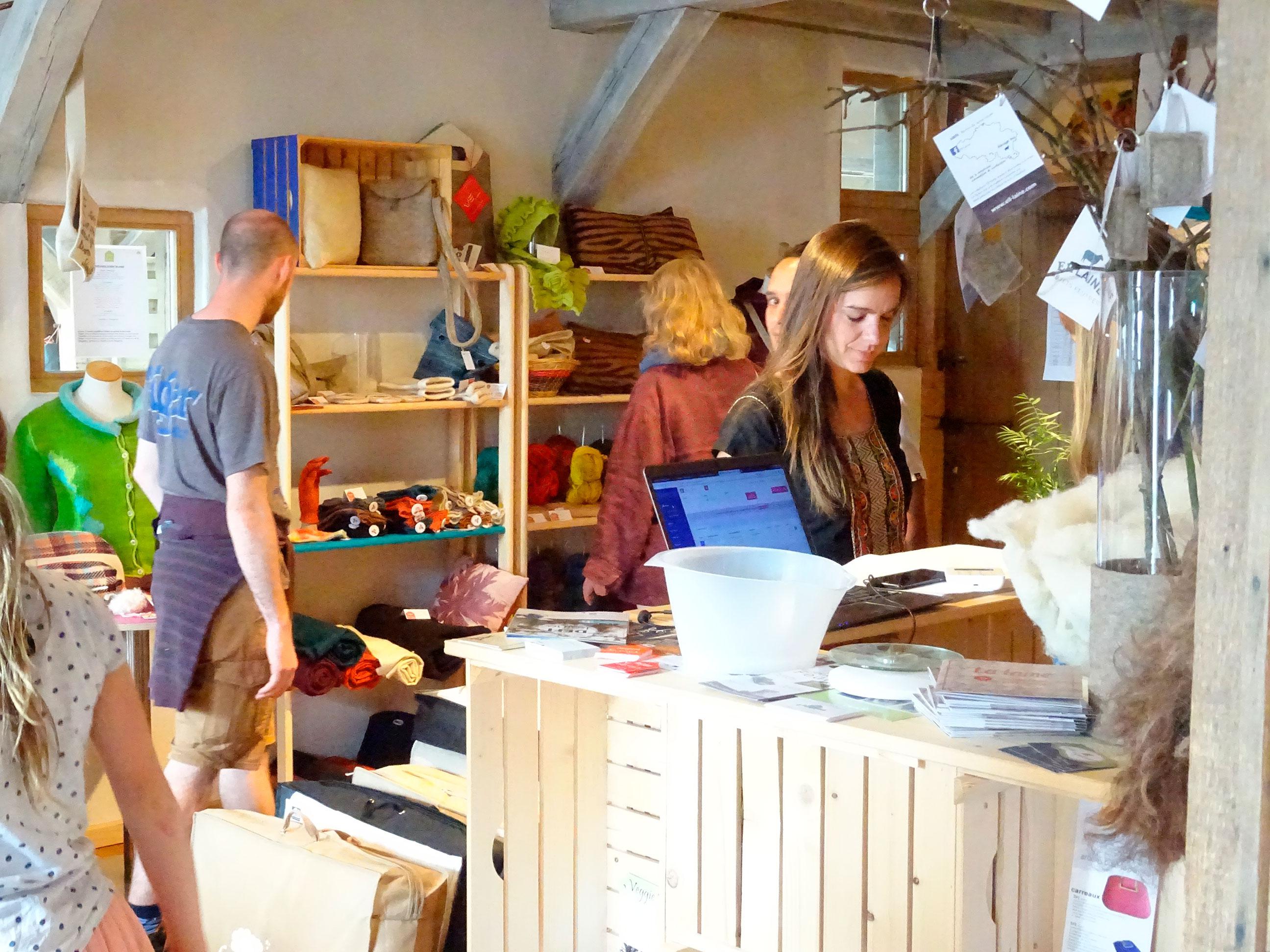 La boutique des laines locales