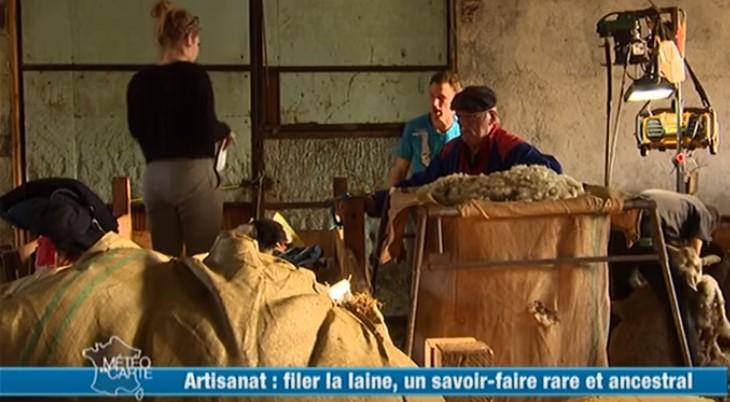 La filature Arpin, un savoir-faire ancestral
