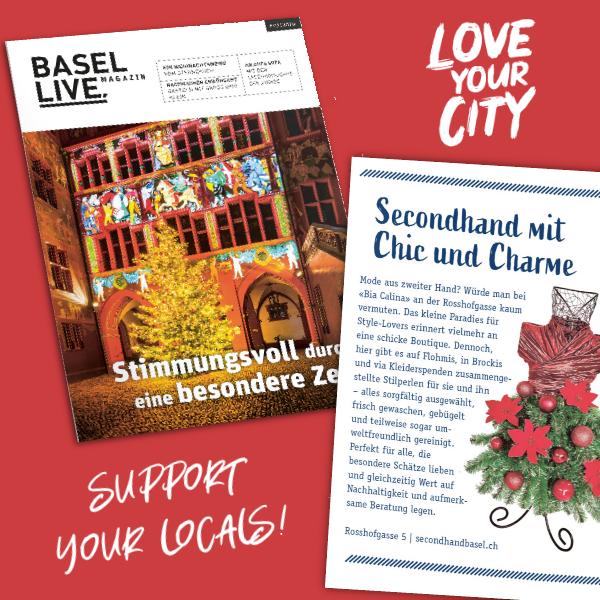 Bia Calina im Basel Live Magazine