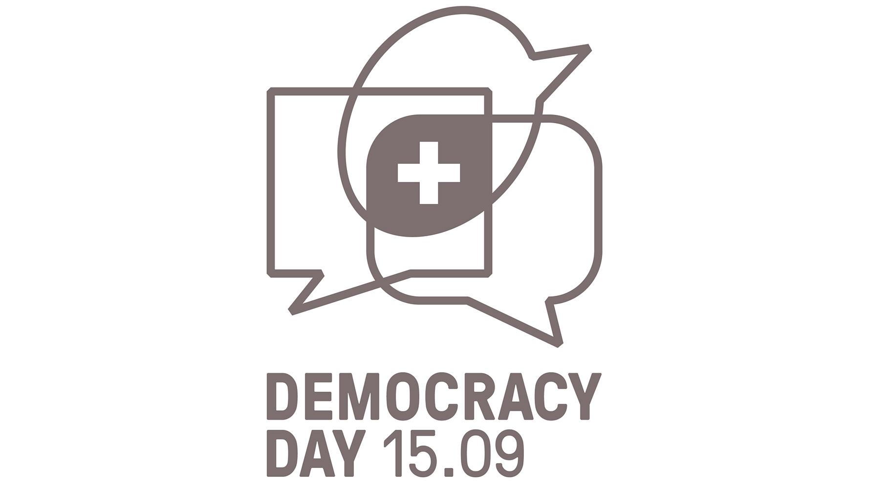 Logo des Democracy Day