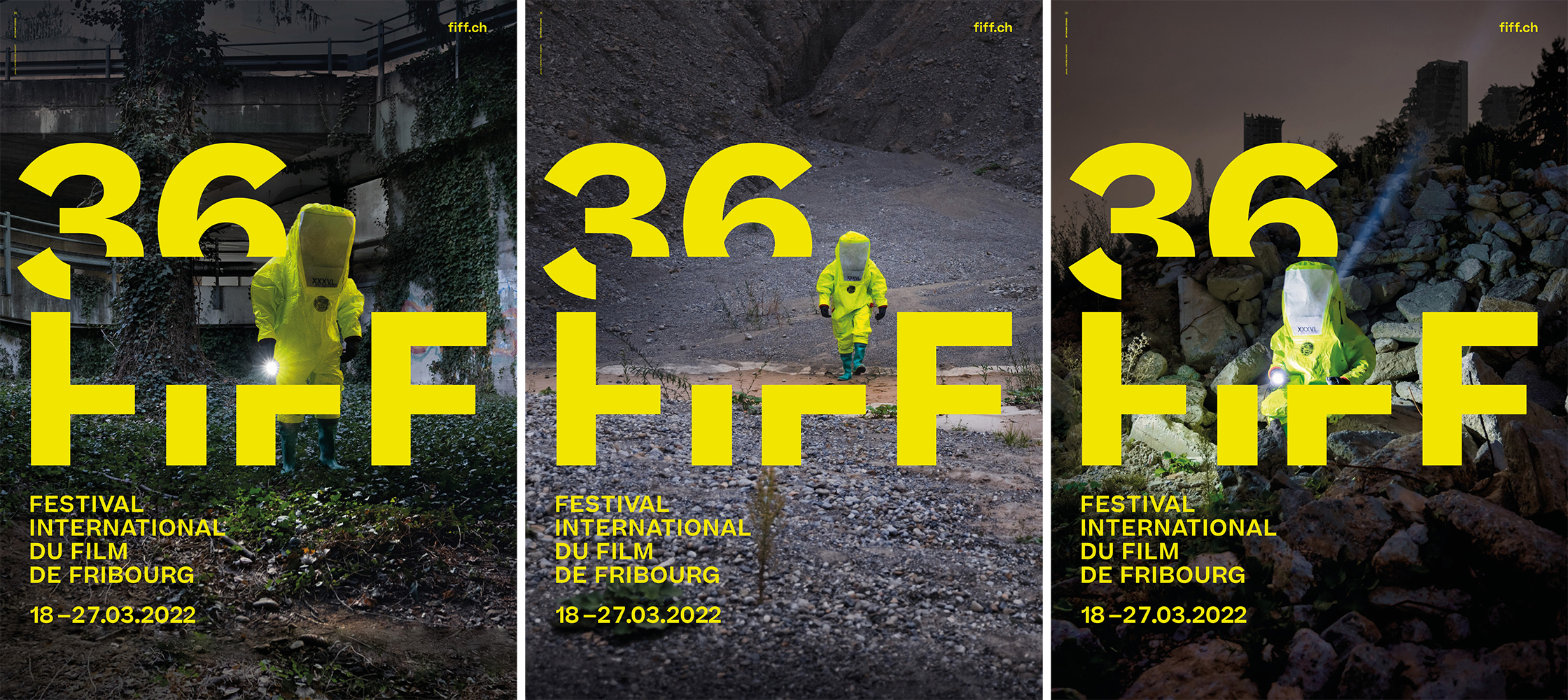 The three posters of FIFF22
